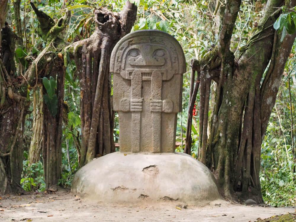 Statue in Bosque de las Estatuas, San Agustin Colombia