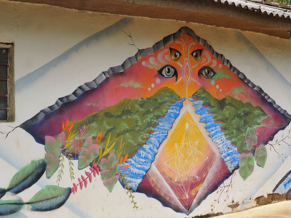Street art in Silvia