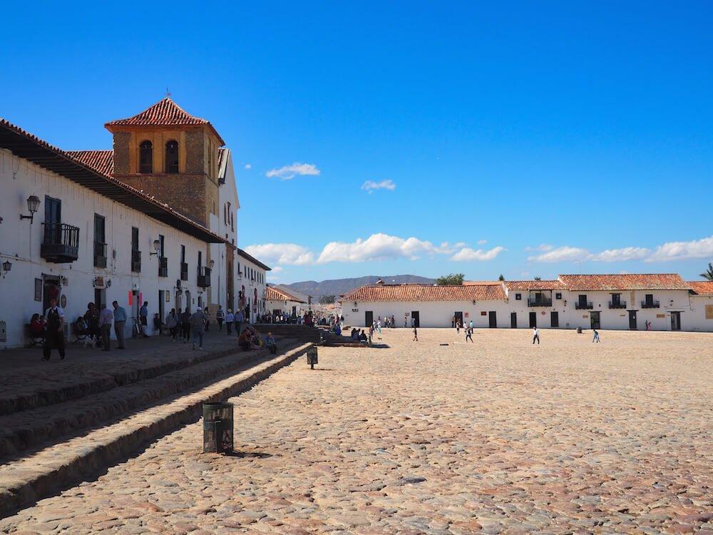 Villa de Leyva main plaza
