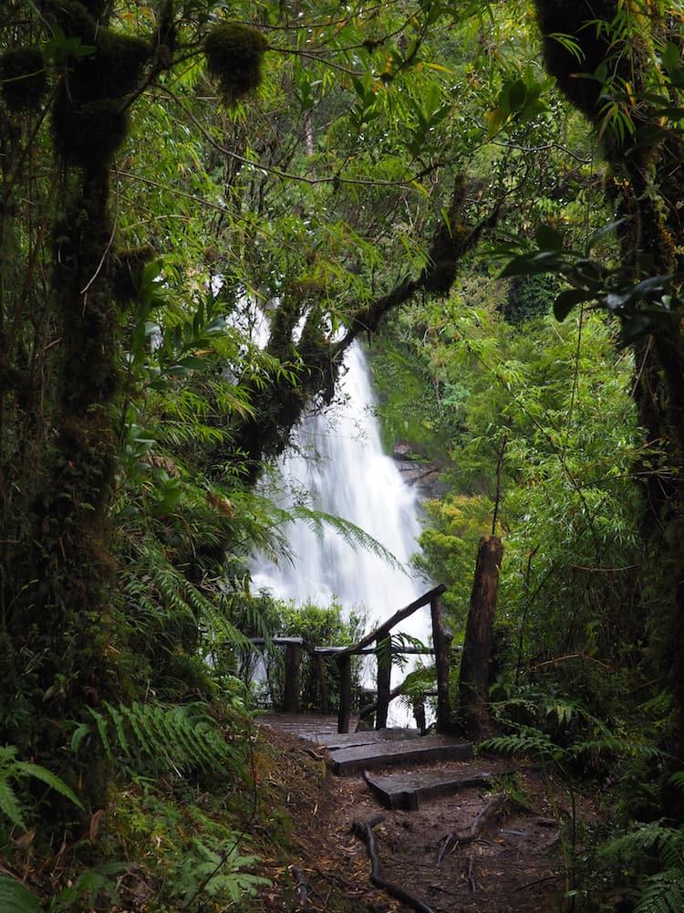 Cascadas Escondidas - waterfall