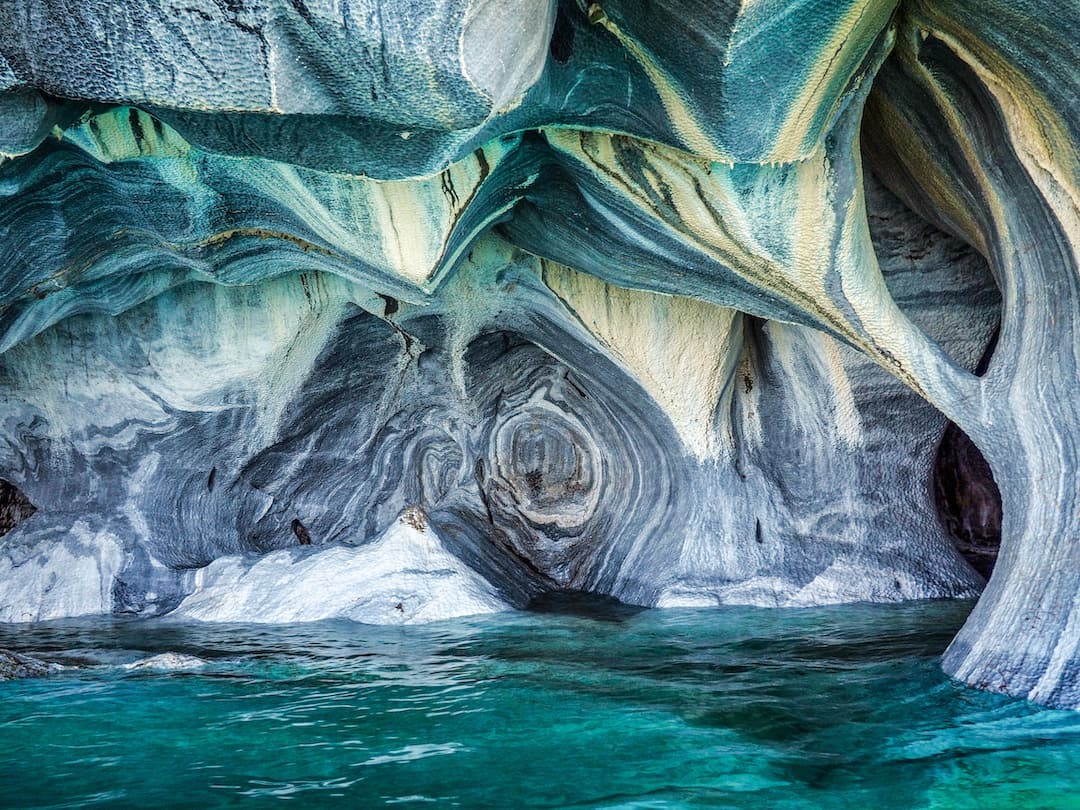 The Cathedral - Marble Caves of Chilean Patagonia