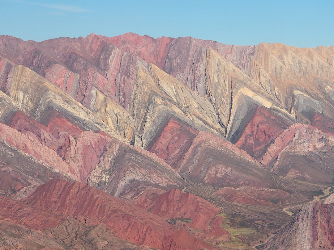 THE RAINBOW MOUNTAINS OF THE QUEBRADA DE HUMAHUACA
