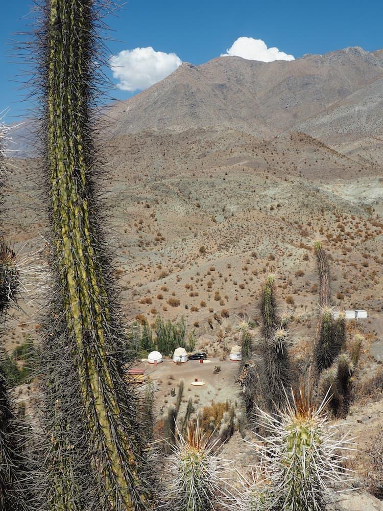 Observatory at Hacienda de los Andes