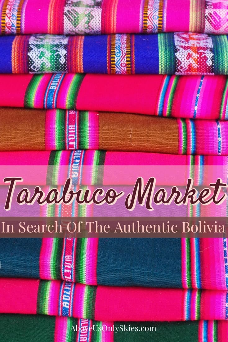 No longer a secret, Tarabuco and its Sunday market are a worthwhile day trip from Bolivia's capital, Sucre - so is it still an authentic experience? Above Us Only Skies - #daytripfromsucre #boliviatravel #tarabucomarket