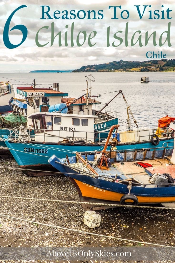 Chiloé Island is a diverse land of lush scenery, pagan mythology and iconic buildings - here are six reasons to make it an essential stop on your Chile trip #chiloe #chiloechile #chiletravel #chiloeisland #chilebackpacking #chileroadtrip #chiloephotographs #chiloeitinerary #southamericatravel #budgettravel