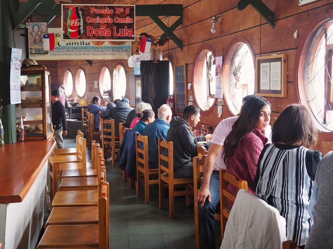 Inside La Cocineria Dalcahue