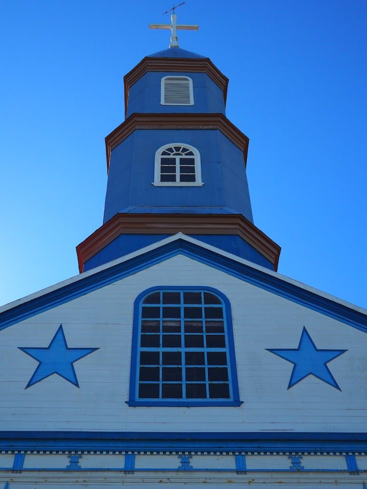 Blue church of Tenaun