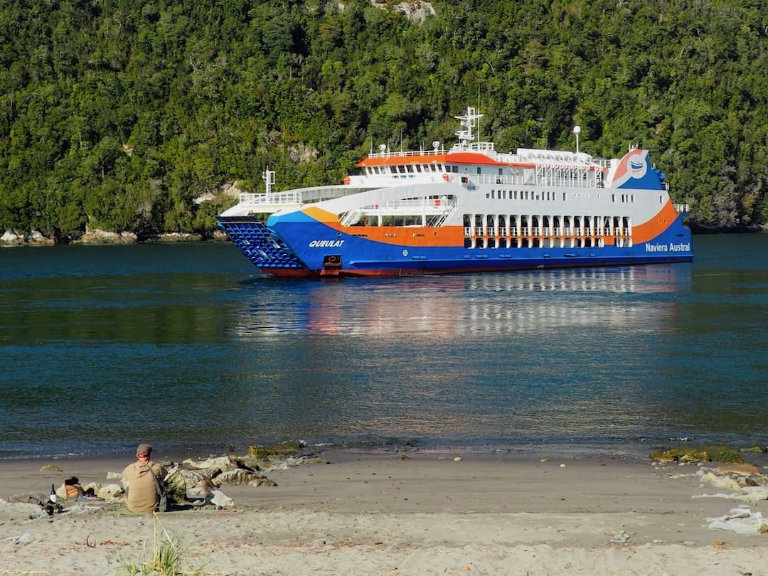 The Naviera Austral ferry