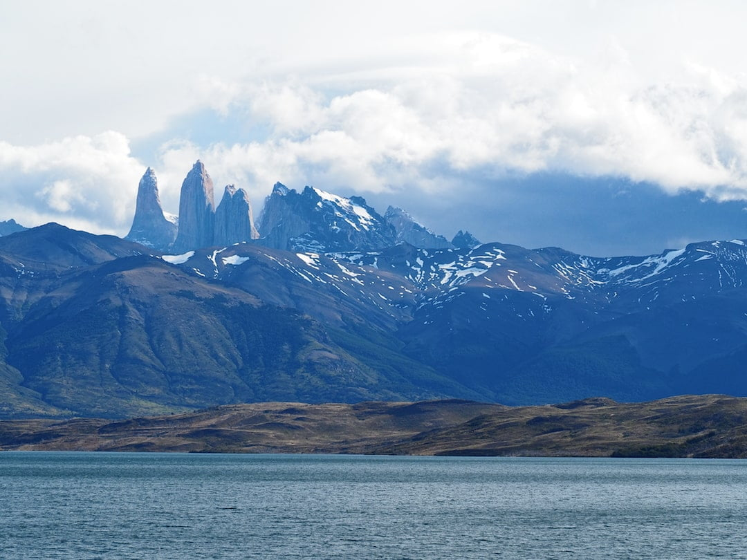 The Towers of Paine and Laguna Azul