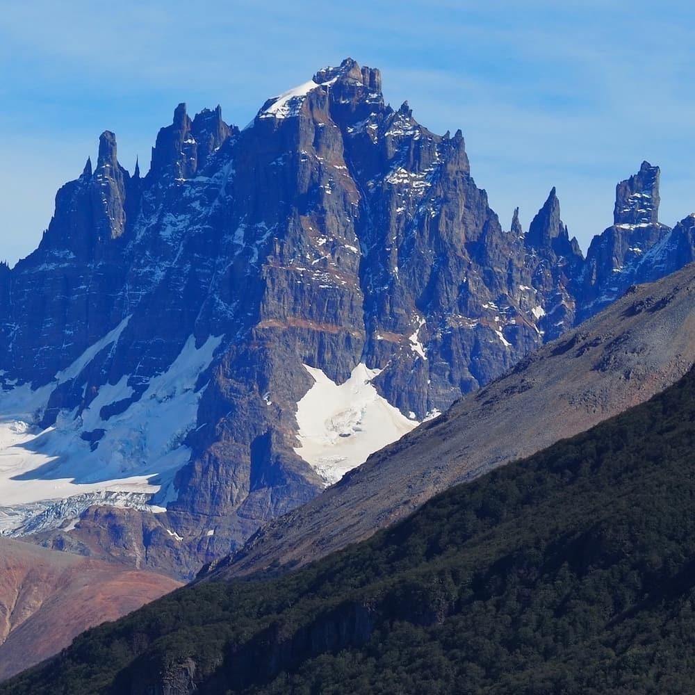 View of Cerro Castillo from the north