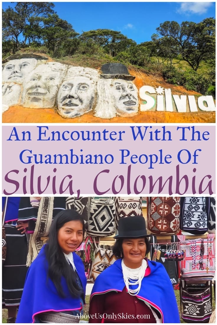 The Guambiano people, who live in the hillsides surrounding Silvia, Colombia, are one of the country's most colourful and traditional indigenous communities. As we discovered on a private tour with a local guide #travelcolombia #offthebeatentrack #colombia #popayan #indigenouspeople #discovercolombia