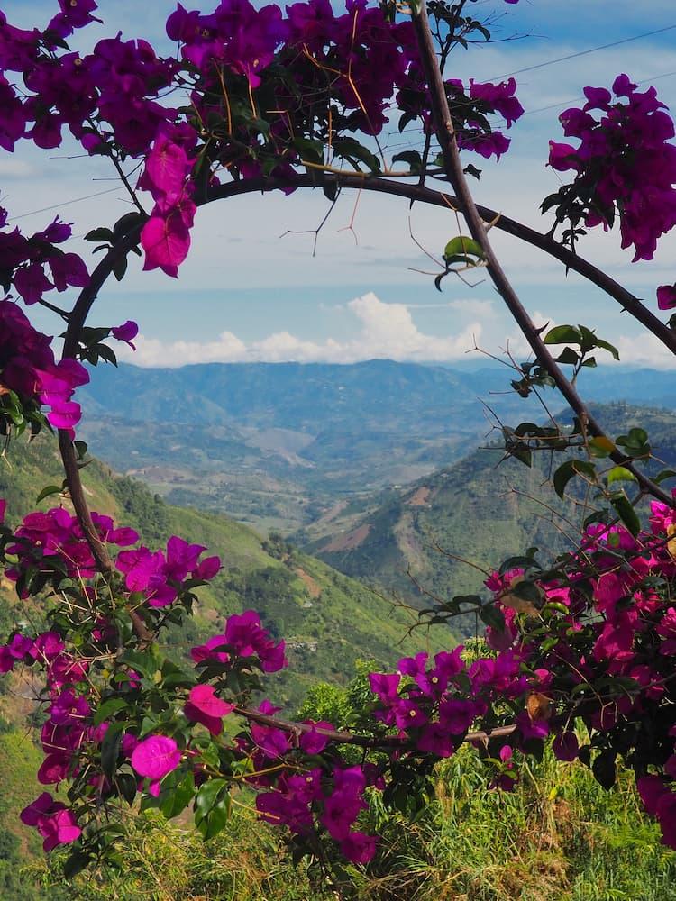 View from Salto de Bordones