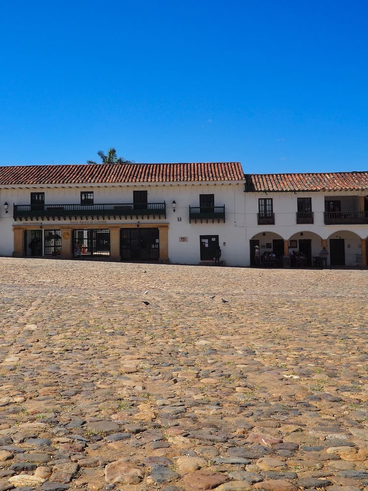 Heritage towns in Colombia - Plaza Mayor, Villa de Leyva