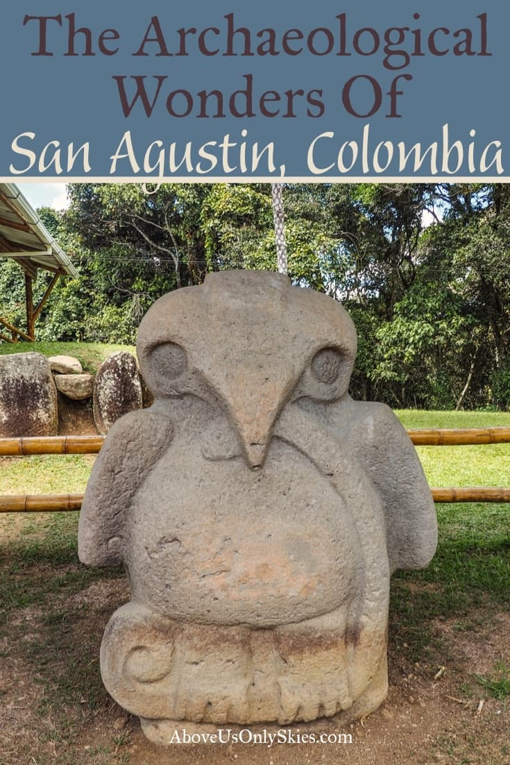 The stunning Archaeological Park of San Agustin, Colombia is a UNESCO World Heritage site that can be visited on foot, horseback and by jeep. Or all three! #unescoworldheritage #archaeologicalsite #colombiatravel #explorecolombia #horseridingholiday #colombiadestinations #offthebeatentrack #sanagustin