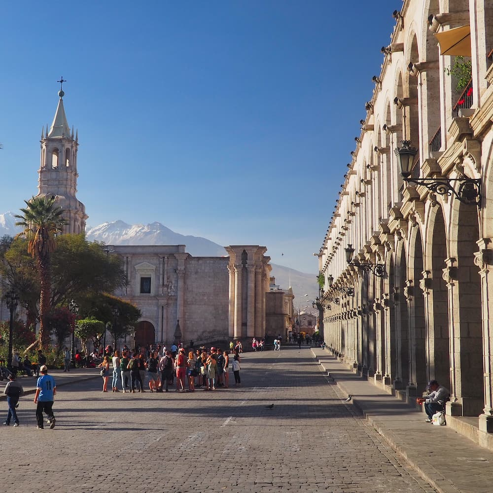 UNESCO World Heritage Site - Historic centre of Arequipa