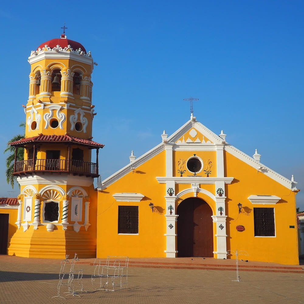 UNESCO World Heritage Site - Historic centre of Santa Cruz de Mompox
