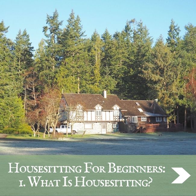 HOUSESITTING - What is housesitting?