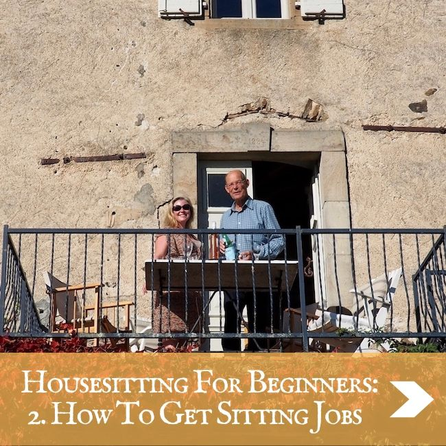 HOUSESITTING - How to get jobs
