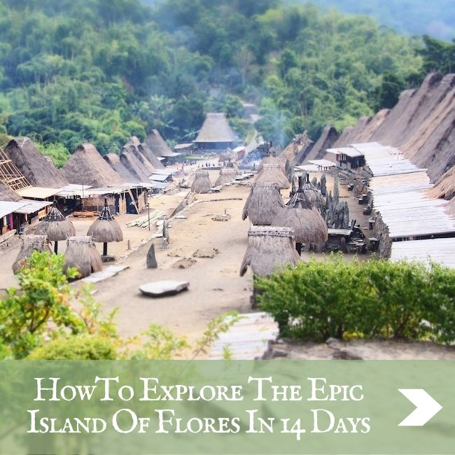 FLORES - ultimate itinerary
