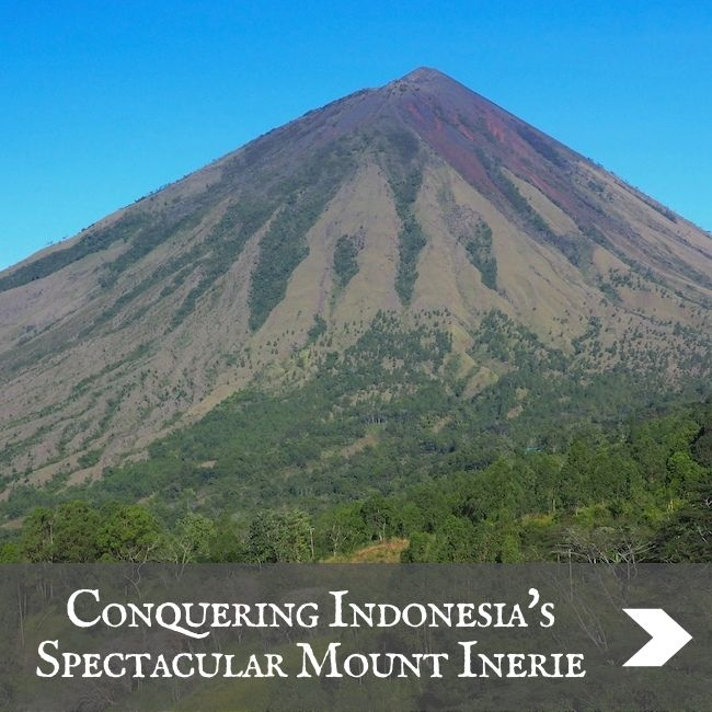 INDONESIA - Mount Inerie