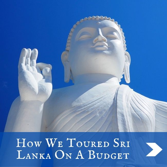 SRI LANKA - On a budget