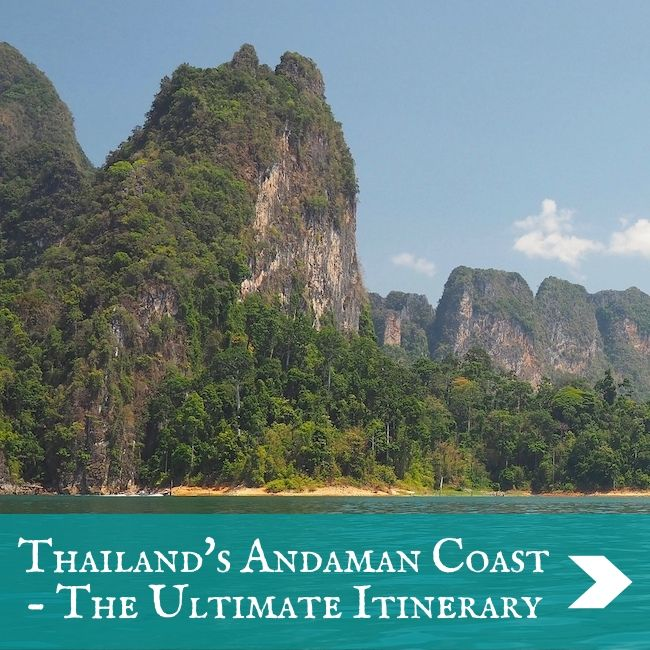 ITINERARIES - Andaman Coast