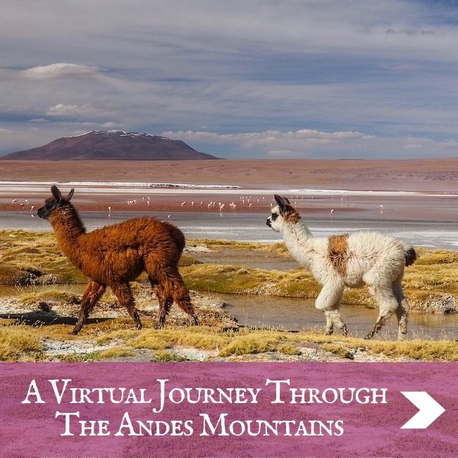 SOUTH AMERICA - A Virtual Journey Through The Andes Mountains