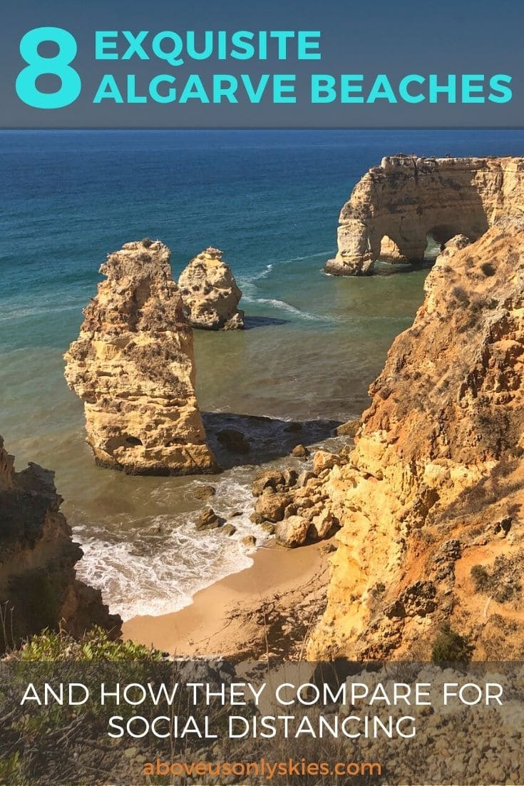 Portugal and its amazing Algarve beaches are once again open for tourism - we look at nine of the best and assess how they rate for safe social distancing