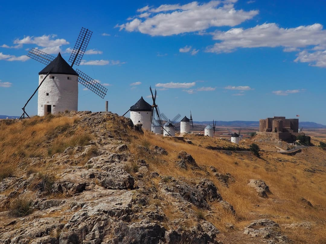 The Windmills o Consuegra