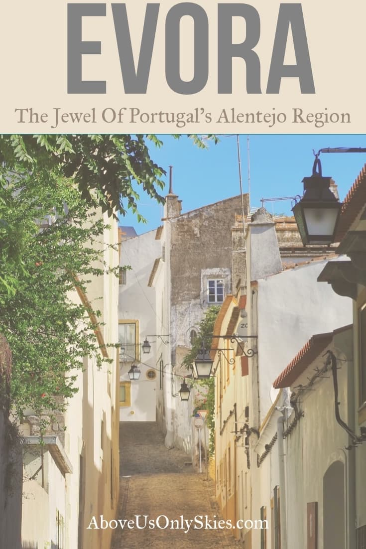 Steeped in history back to the Roman era, the medieval city of Evora, Portugal combines incredible architecture with evocative streets and gourmet food