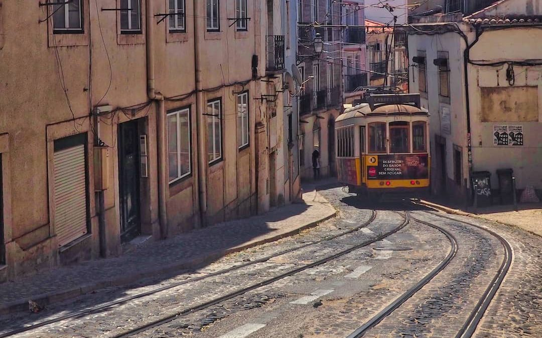 A Wander Through The Eerily Quiet Streets Of Lisbon