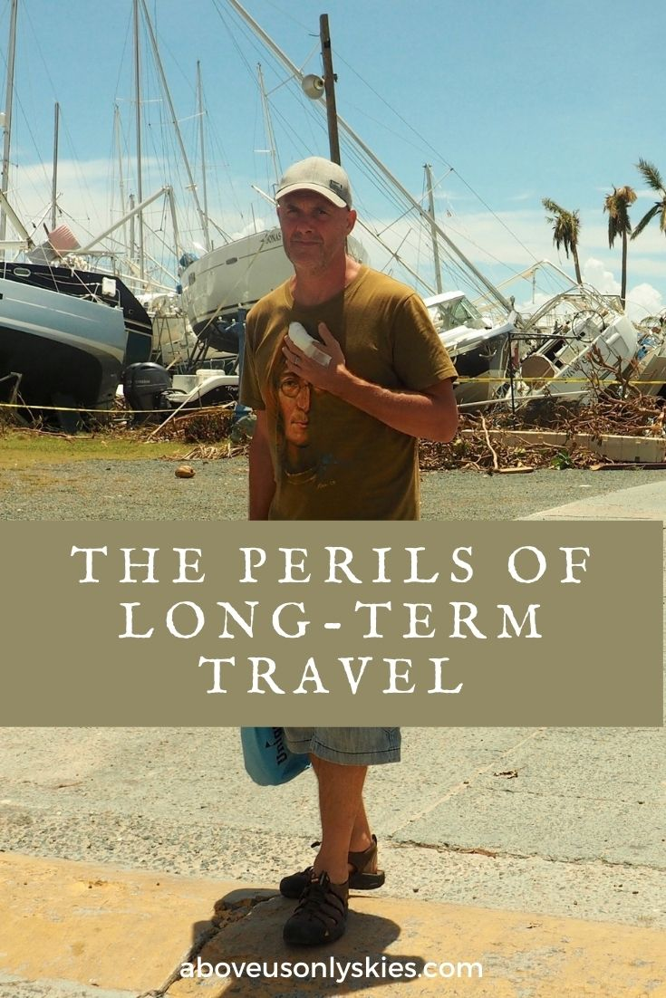A catalogue of tawdry tales full of mishaps, embarrassments and imagined acts of derring-do from our six years of travel