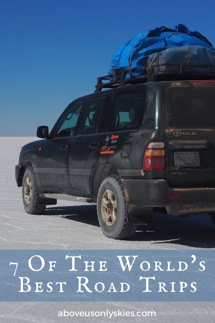 There are plenty of candidates to claim a spot amongst the world's best road trips. But we reckon these seven epic journeys are hard to beat