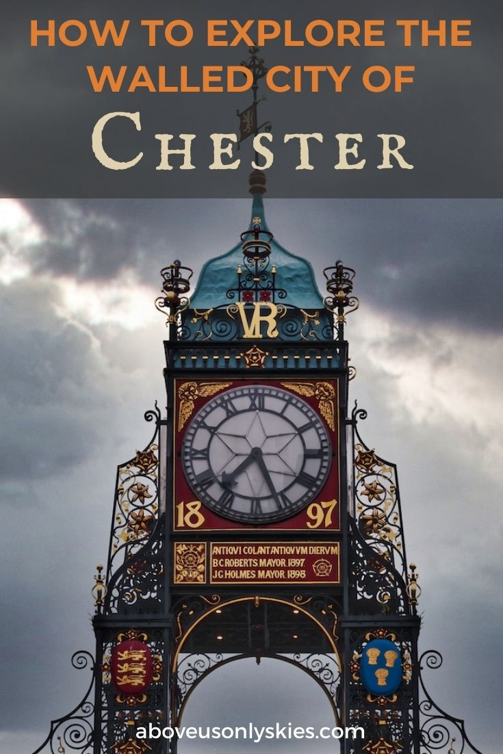 Dating back to the Roman period, the medieval city of Chester is comparable to Bath, York and Lincoln - here's how to explore it on foot